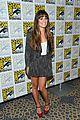 lea michele glee cast hits comic con 2012 24