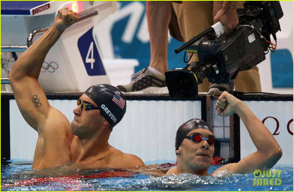 matt grevers missy franklin win gold medals for usa 16