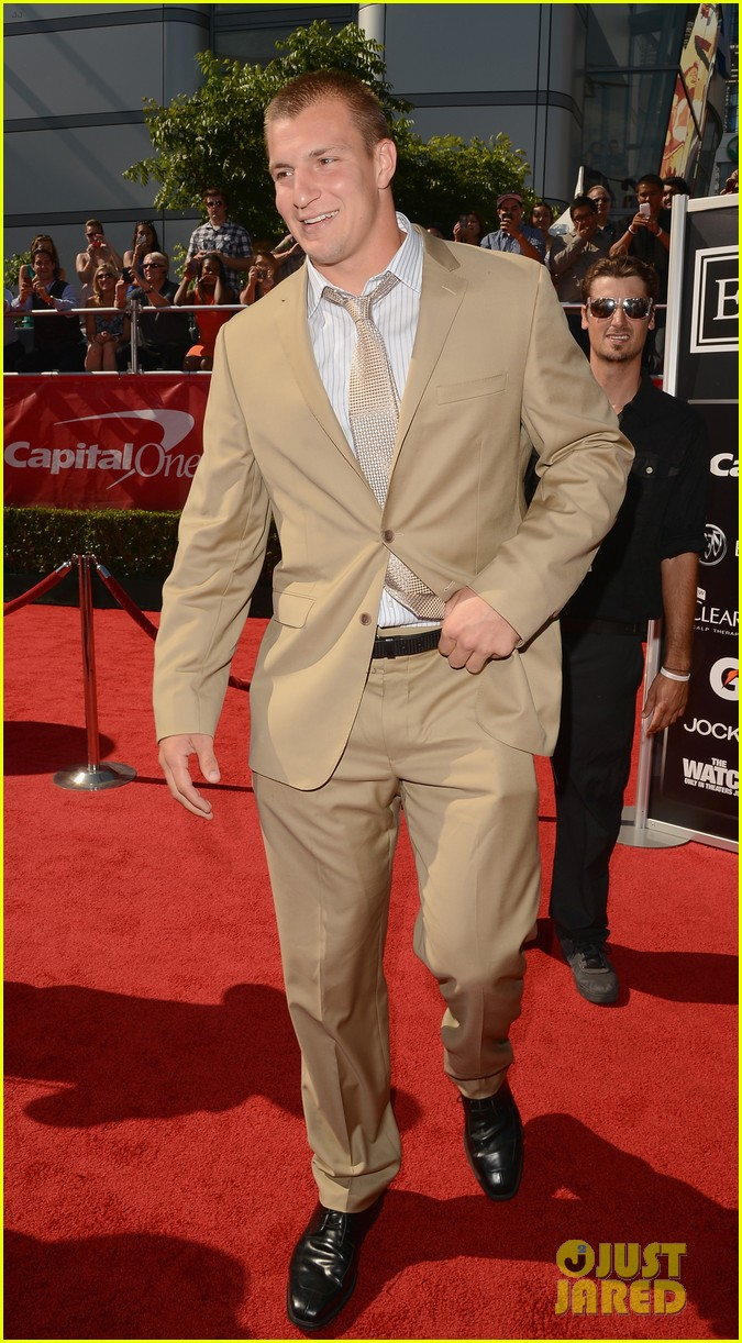rob gronkowski espy awards 2012 body issue espn 012685959
