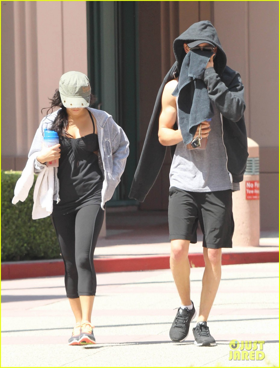 vanessa hudgens austin butler workout couple 152692399