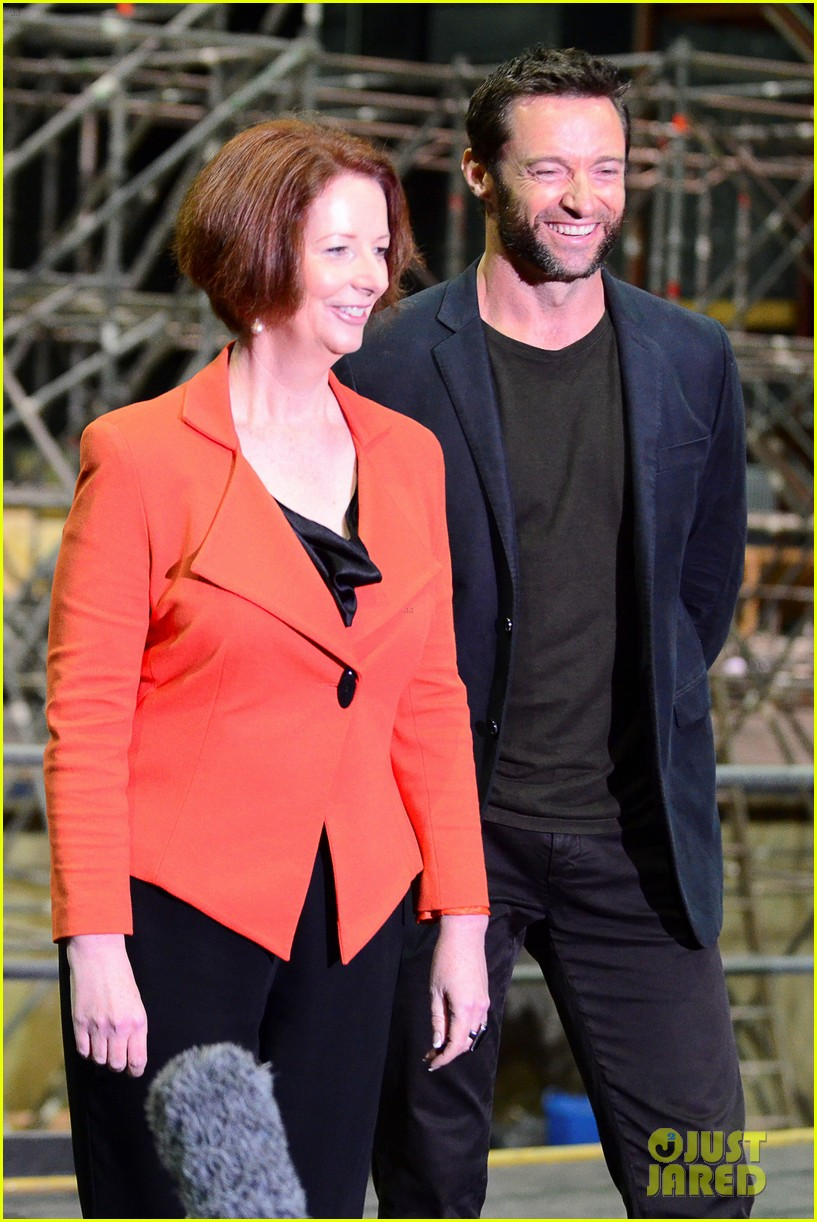 hugh jackman wolverine press conference 012691578