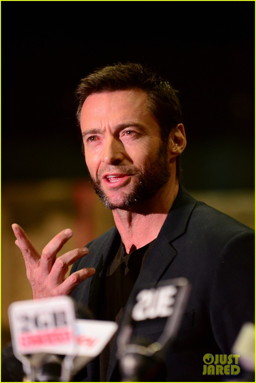 hugh jackman wolverine press conference 06