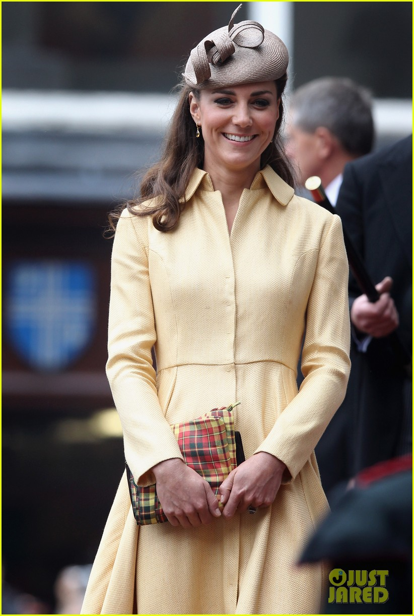duchess kate prince william thistle ceremony 07