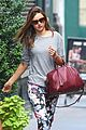 miranda kerr floral pants lover in nyc 03