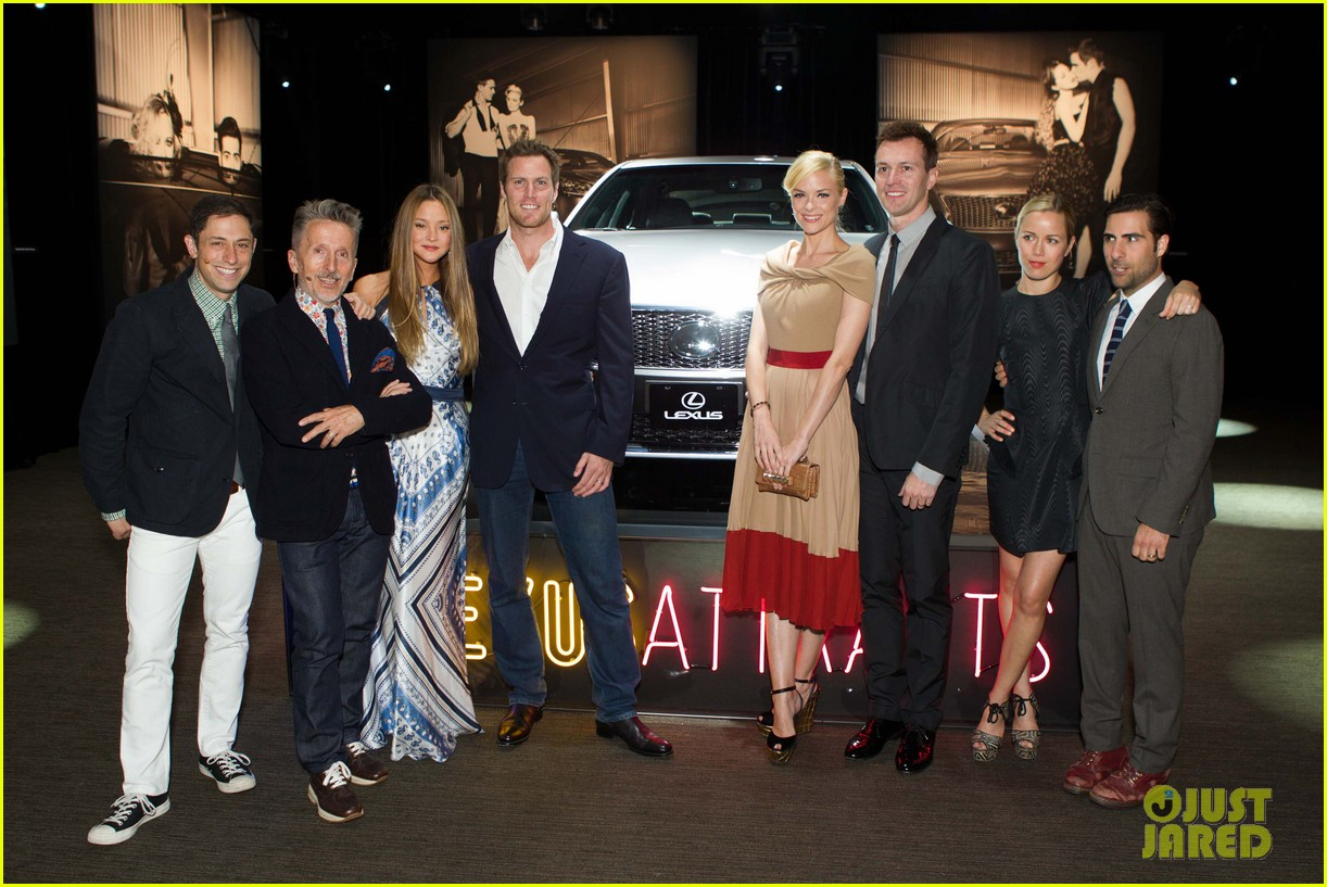 jaime king kristen wiig lexus laws of attraction event 04