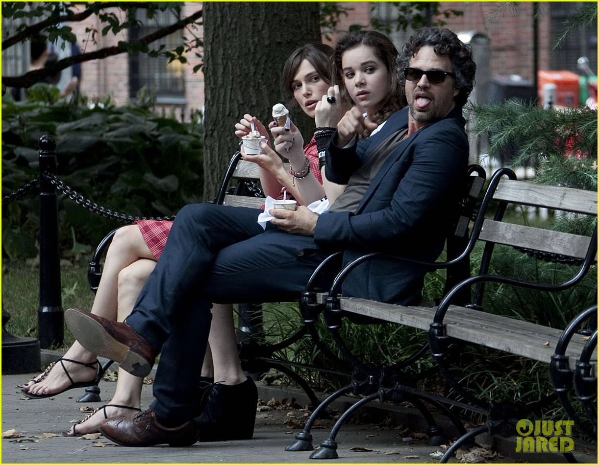 keira knightley mark ruffalo song ice cream break 12