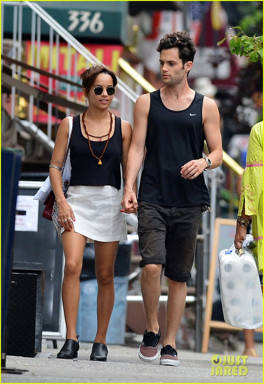 zoe kravitz penn badgley east village lovers 03