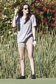 kristen stewart out golfing 11
