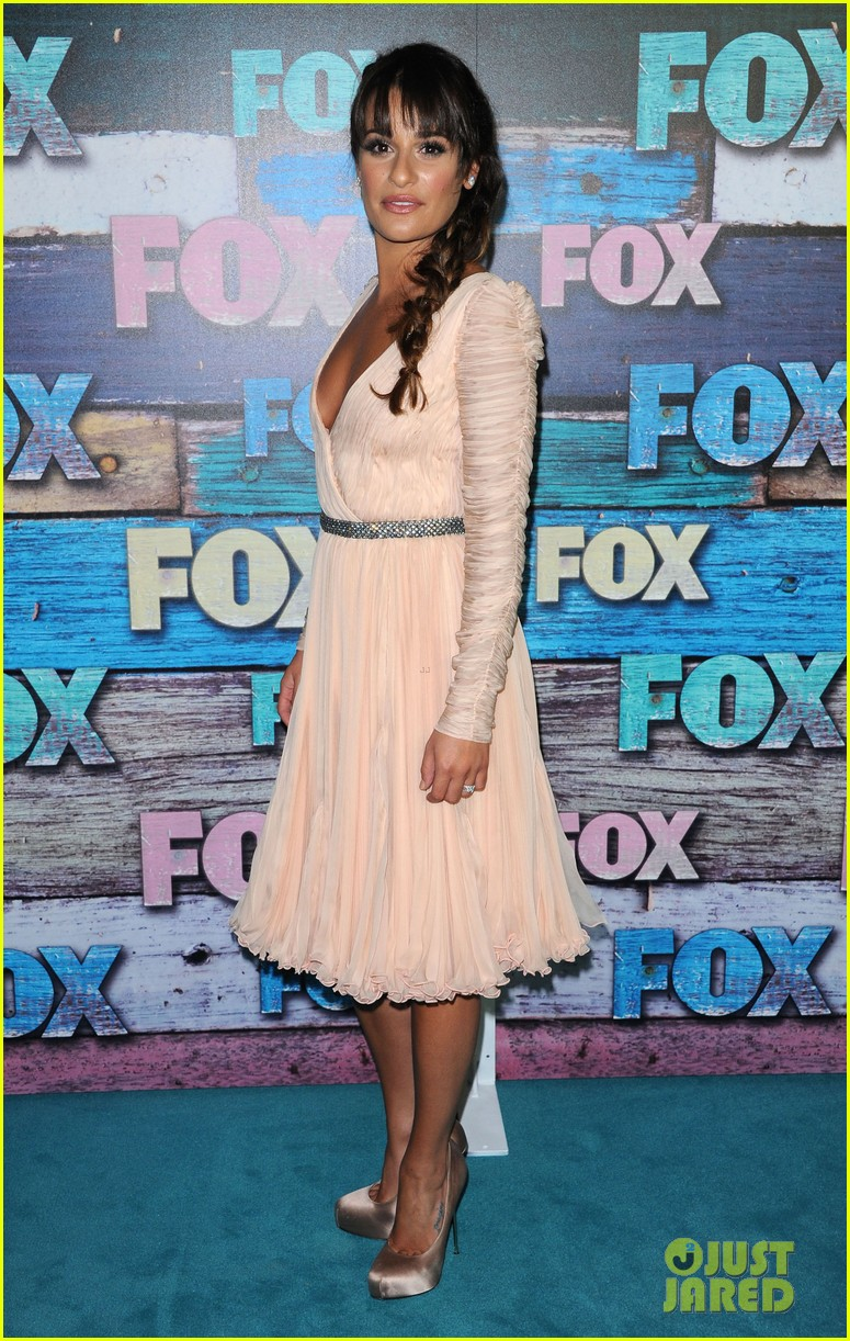 lea michele fox tca all star party 09