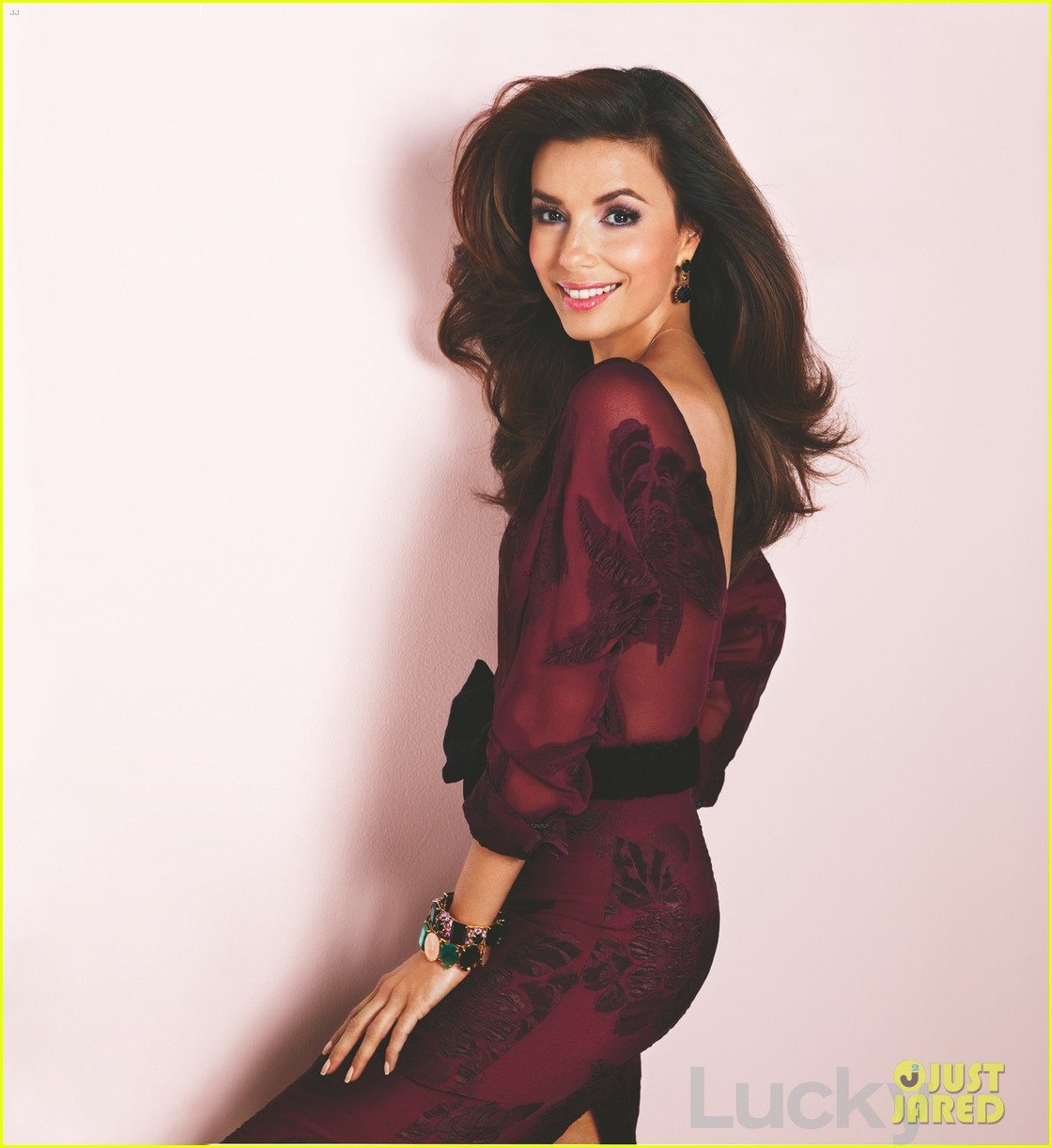 eva longoria covers lucky magazine september 2012 02