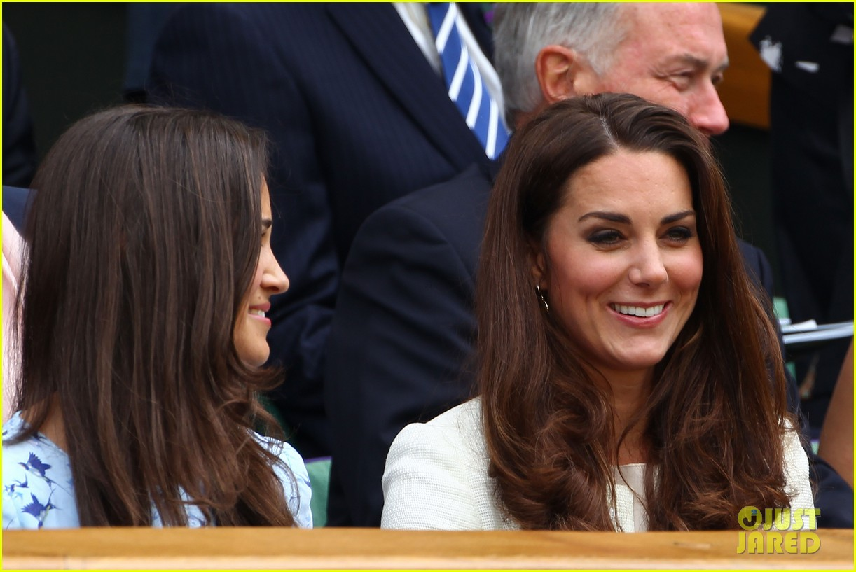duchess kate pippa middleton wimbledon 10