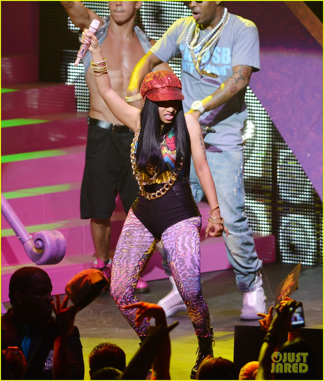 nicki minaj pink friday tour with lil wayne birdman 02
