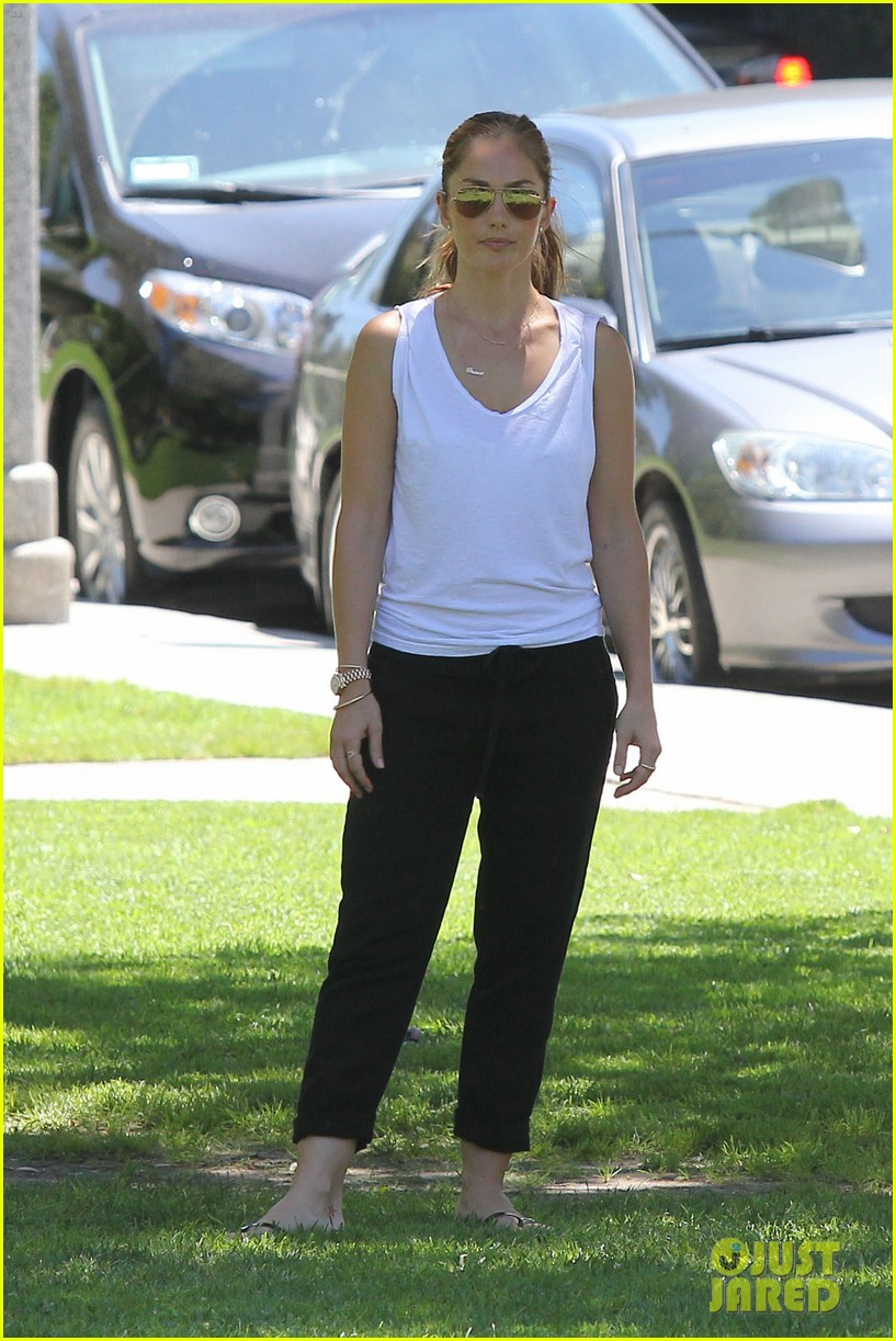 minka kelly chewy playing in the park 122689973
