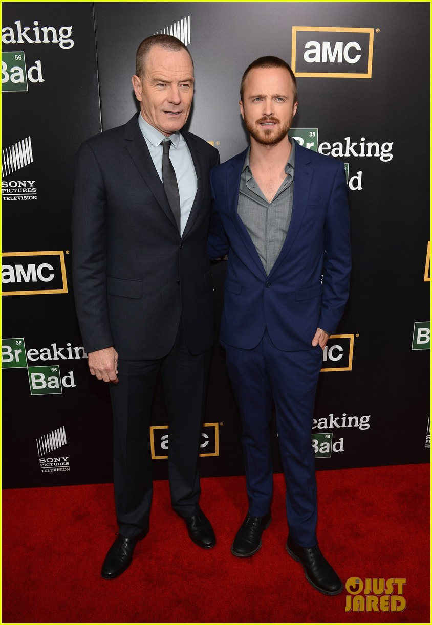 aaron paul bryan cranston breaking bad premiere 07