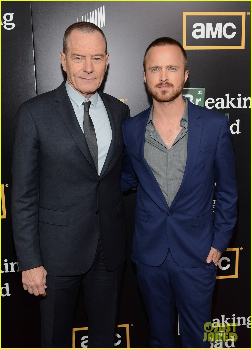 aaron paul bryan cranston breaking bad premiere 08