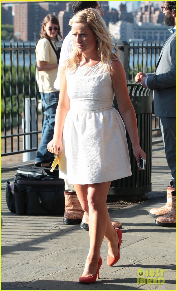amy poehler they came together set with archie 012692558