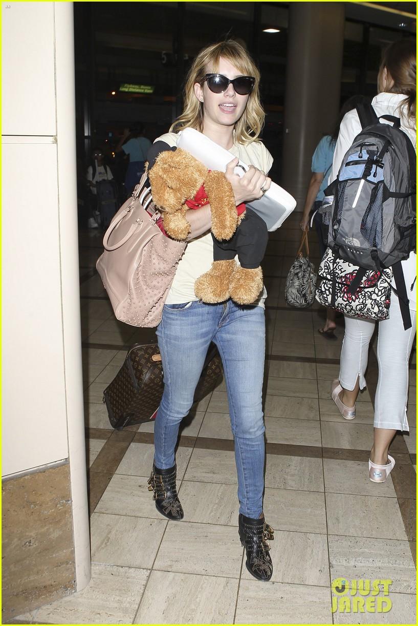 emma roberts teddy bear traveler 022686845