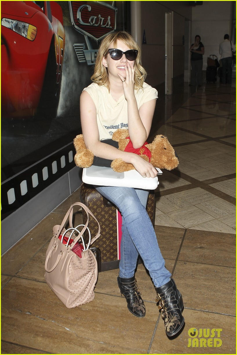 emma roberts teddy bear traveler 062686849