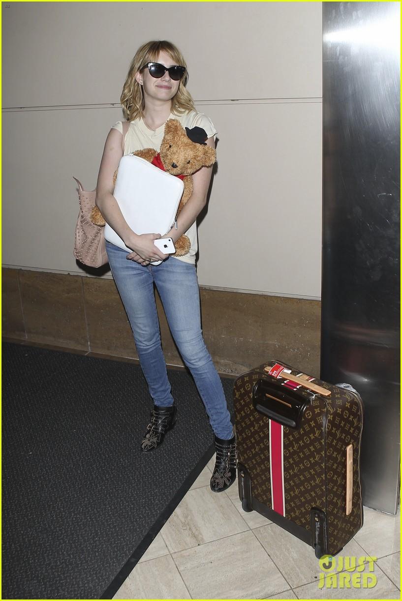 emma roberts teddy bear traveler 082686851
