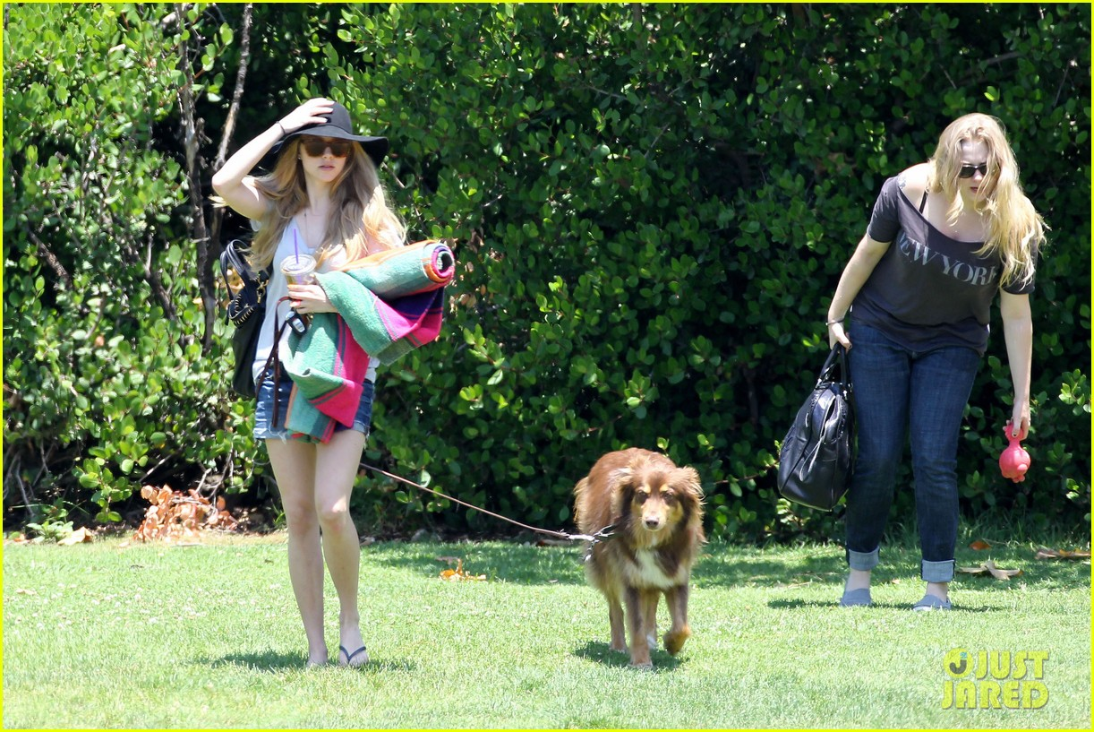 amanda seyfried park with flynn 15