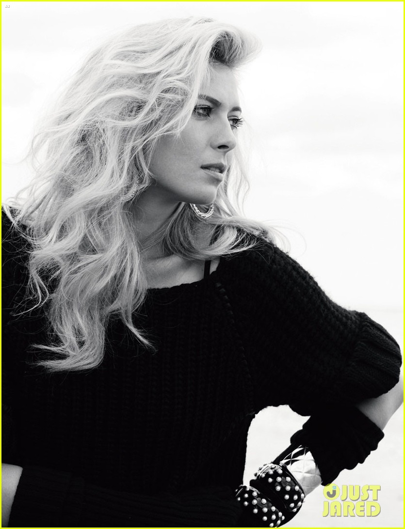 maria sharapova covers harpers bazaar russia exclusive 13
