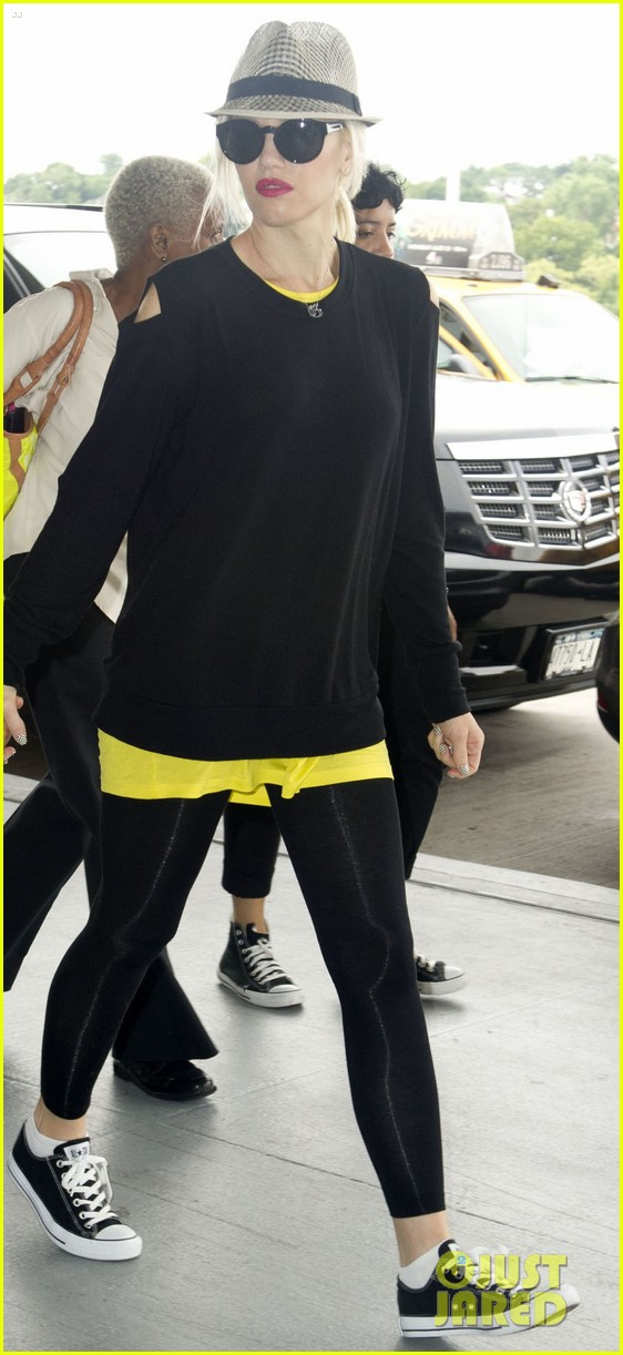 gwen stefani leaving new york 05