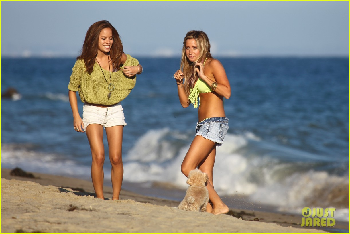 vanessa hudgens happy bikini birthday ashley tisdale 152682247