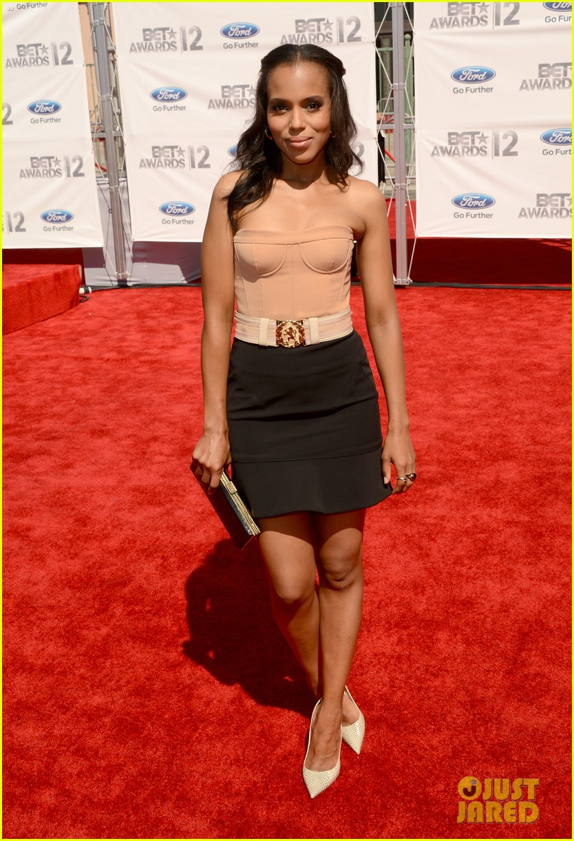 kerry washington taraji p henson bet awards 2012 07