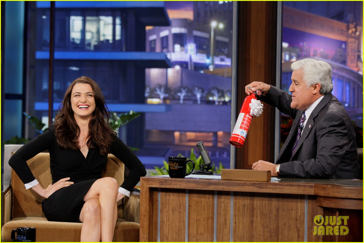 rachel weiz tonight show with jay leno appearance 01