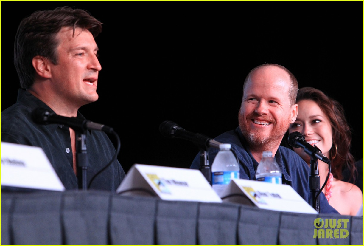 firefly cast reunion at comic con 06