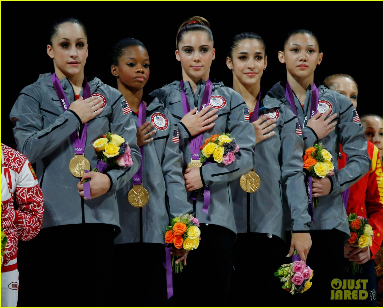 Women's Gymnastics Team Wins Gold Medal!