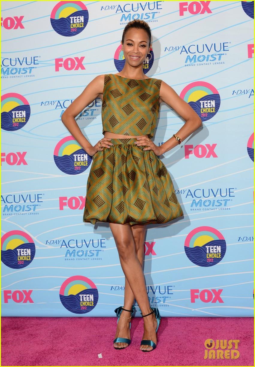 zoe saldana teen choice awards 2012 06