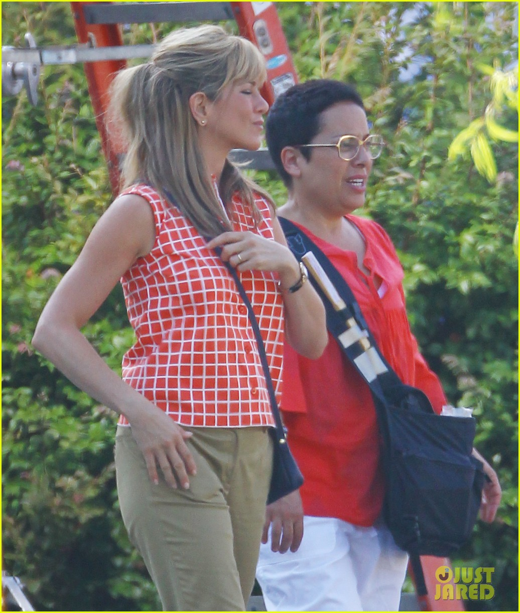 jennifer aniston were the millers in wilmington 04