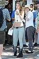 annalynne mccord 90210 cast on set 03