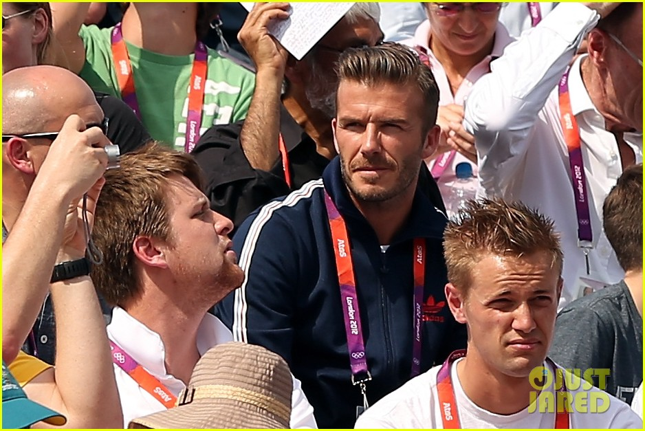 david beckham boys meet greet olympic guards 022699692