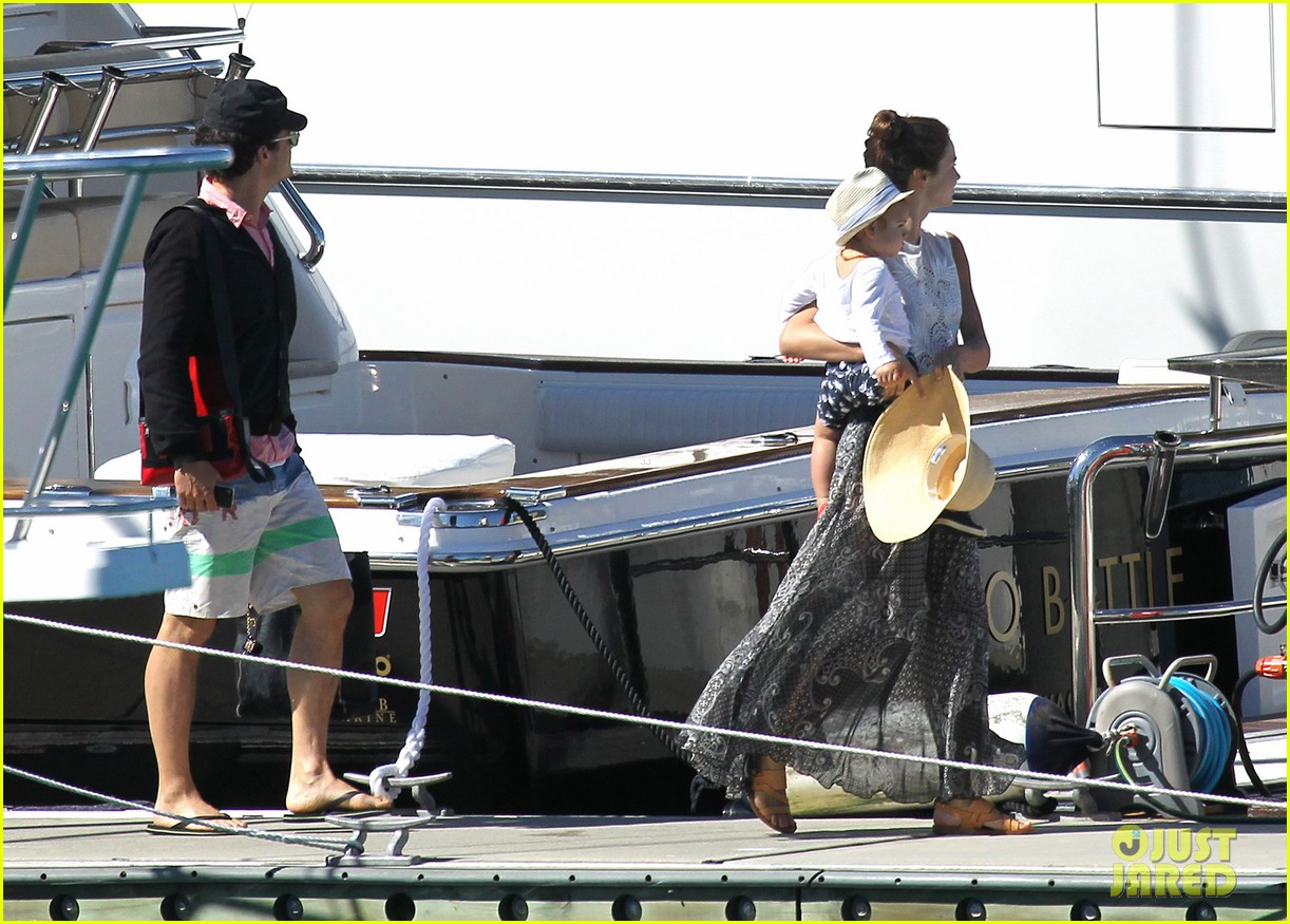 miranda kerr orlando bloom yachting 122697249