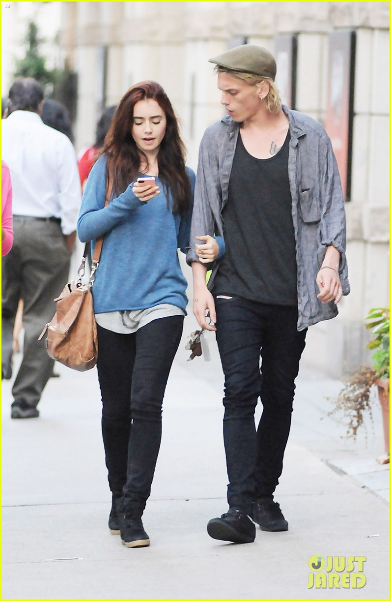 Is jamie campbell bower dating lily collins