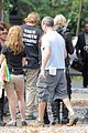 lily collins jamie campbell bower mortal instruments set 11