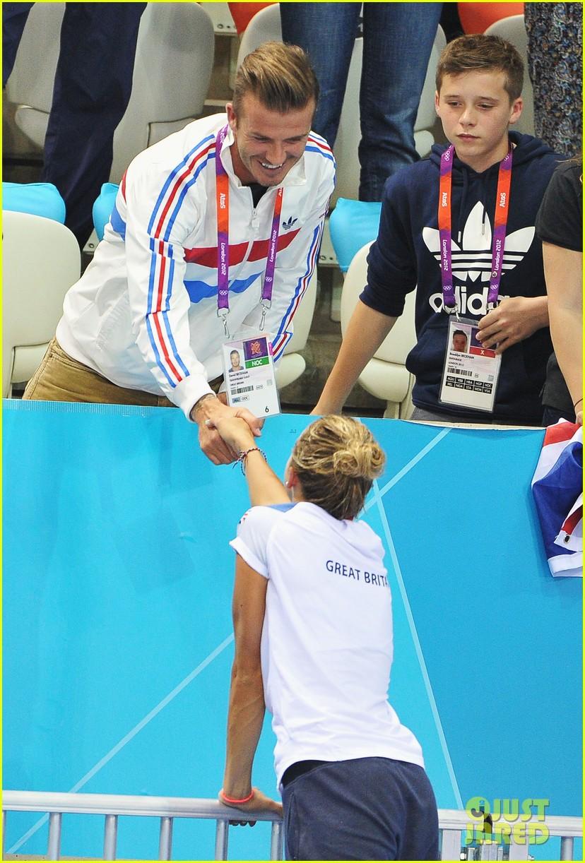 Usa S David Boudia Wins Diving Gold Tom Daley Wins Bronze Photo 2700330 2012 Summer Olympics London Brooklyn Beckham Celebrity Babies Cruz Beckham David Beckham David Boudia Romeo Beckham Tom Daley Victoria