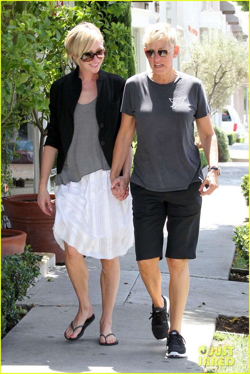 Portia De Rossi couple