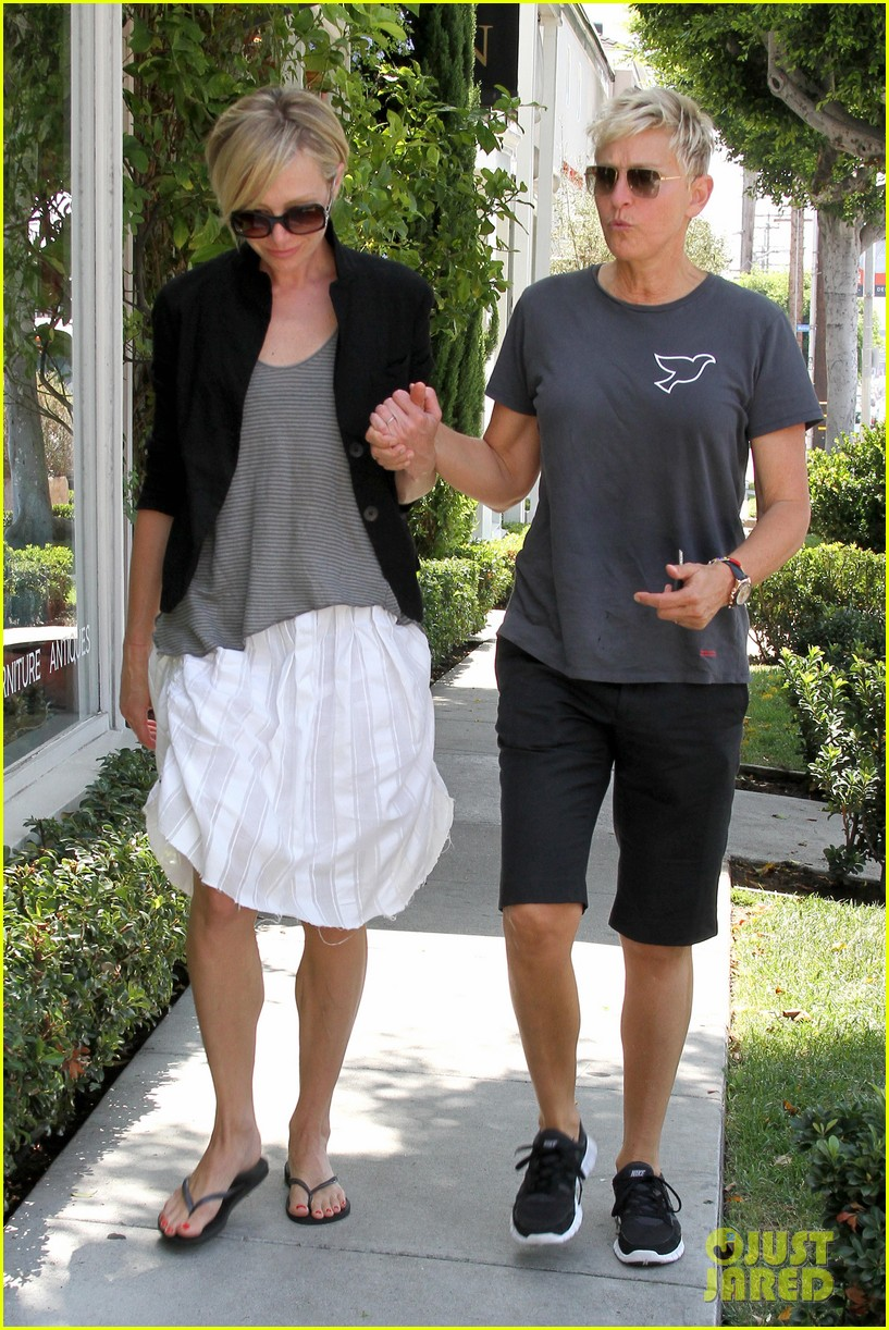 ellen degeneres portia de rossi galerie half couple 06