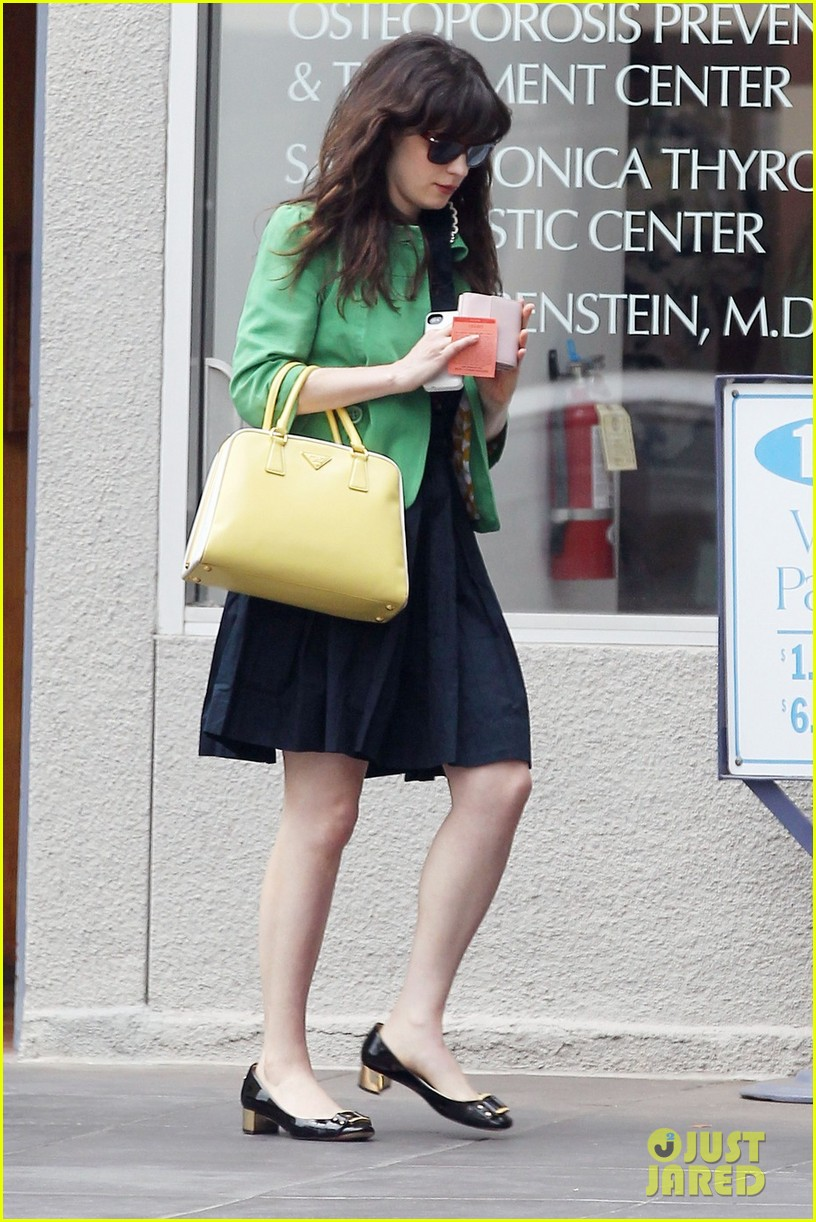 zooey deschanel out shopping 01