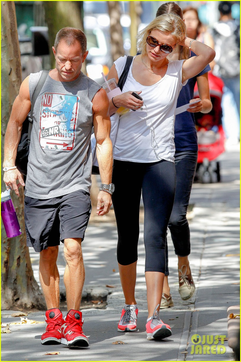 cameron diaz fitness fun in big apple 102709929