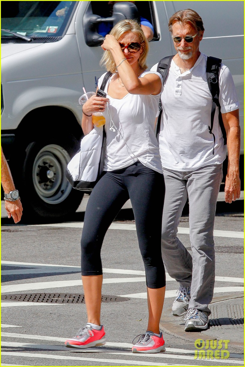 cameron diaz fitness fun in big apple 112709930
