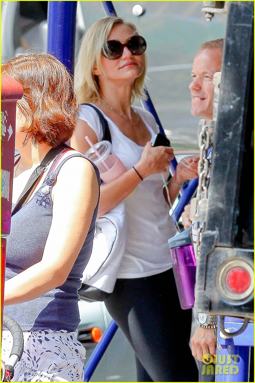 cameron diaz fitness fun in big apple 142709933