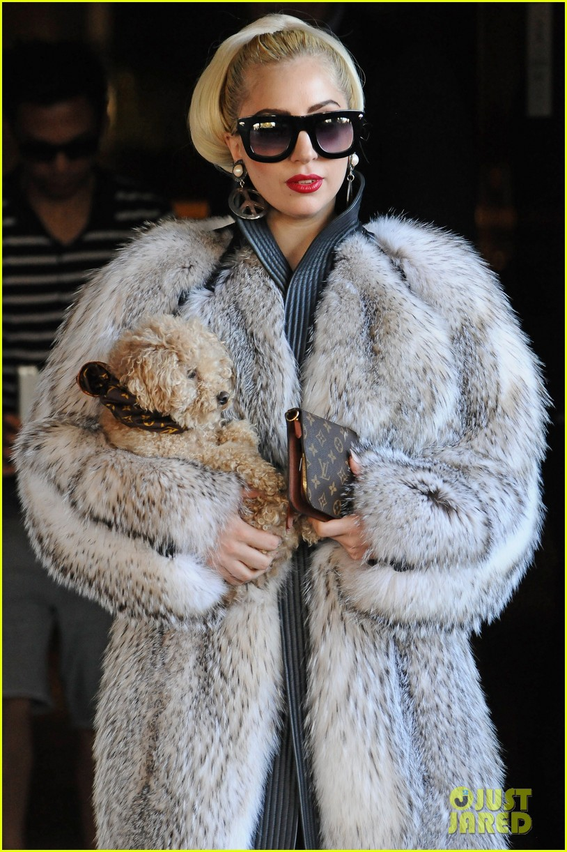 Lady Gaga: My Fur Coat Is Real!: Photo 2701809 | Lady Gaga ...