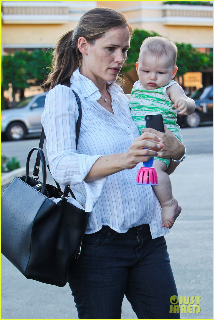 jennifer garner ben affleck ice cream kids 062709318