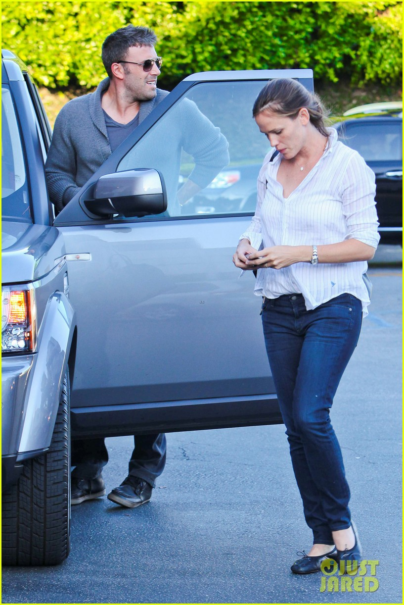 jennifer garner ben affleck ice cream kids 152709327