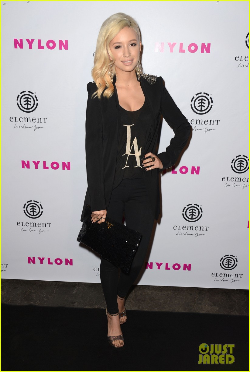 ashley greene nylon cover party 04