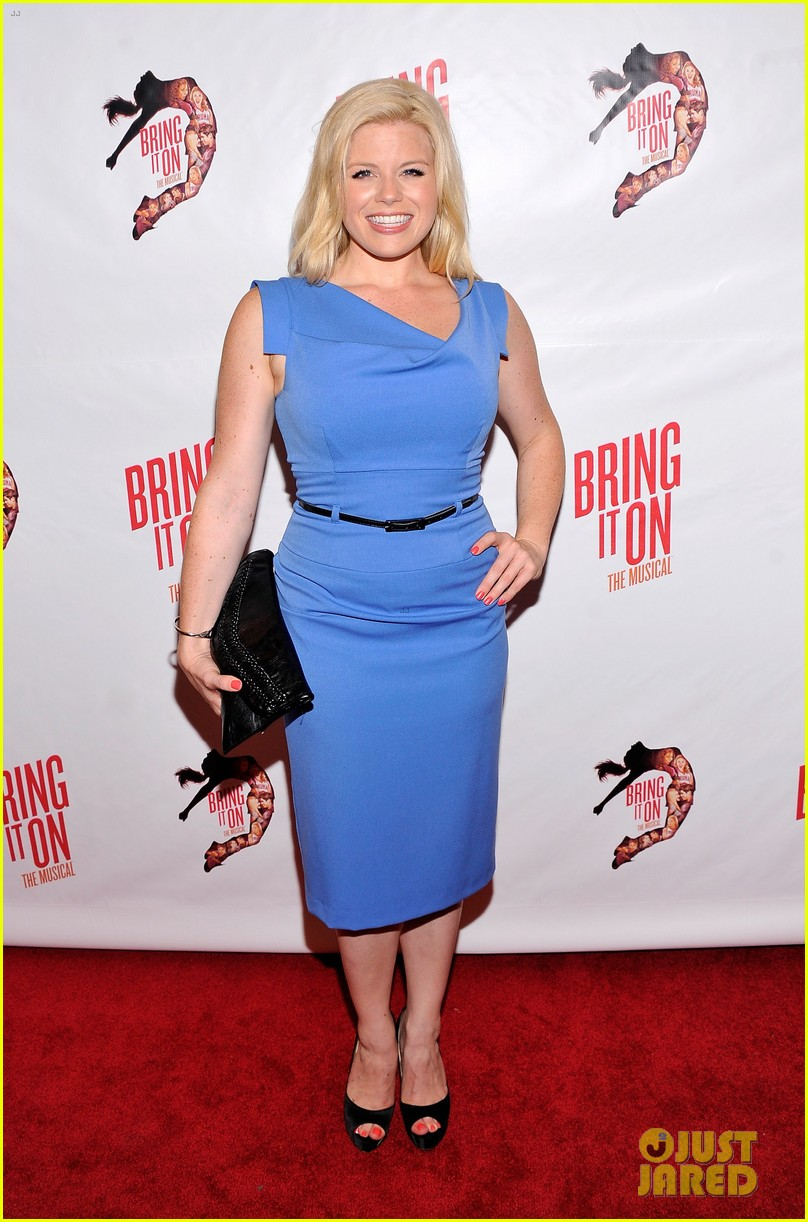 megan hilty krysta rodriguez bring it on opening night 01